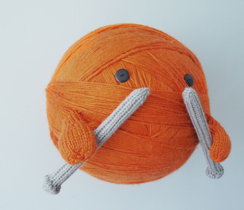 The Giant Ball of Yarn of The Sky by Anna Hrachovec