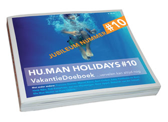 Boekomslag Human Holidays 10