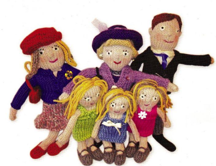 Koninklijke familie breien